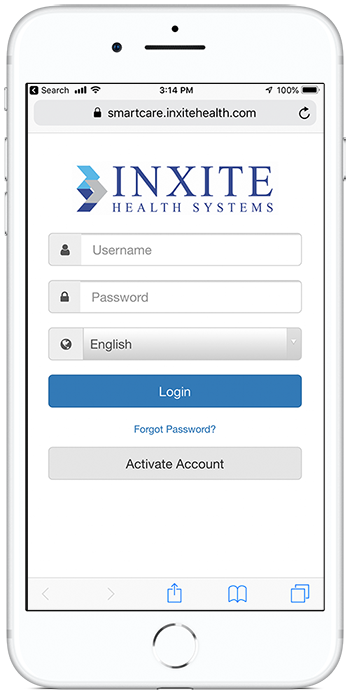 InXite Login/Assessment